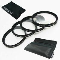 52mm Macro Close-Up +1 +2 +4 +10 Close Up Filter Kit for DSLR SLR Camera Lens