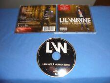 "Lil Wayne ""I Am Not A Human Being"" CD UNIVERSAL MOTOWN EUROPE 2010"