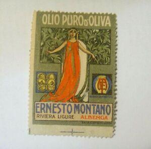 """CHIUDILETTERA ERINNOFILIA - OLIO PURO DI OLIVA """" ERNESTO MONTANO ALBENGA """" 7-39"""
