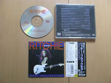 Ritchie Blackmore Best Collection Japan CD with OBI Live Instrumental Studio CD