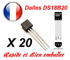 20x Dallas DS18B20 1-Wire Digital Thermometer TO-92