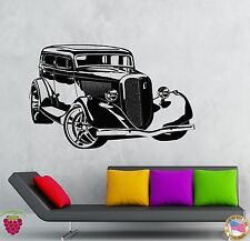 Wall Stickers Vinyl Decal Old Retro Car Auto Collection Living Room  (z2133)
