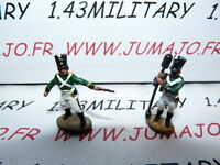 SOLDAT de plomb DEL PRADO 1/50 : AUSTERLITZ Napoléon : lot n°10 2 soldats