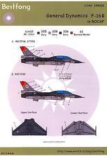 Bestfong Decals 1/144 GENERAL DYNAMICS F-16B Republic of China Air Force