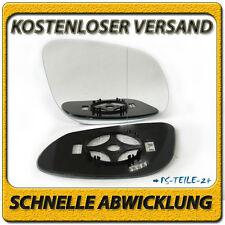 spiegelglas für PORSCHE CAYENNE 02-06 rechts asphärisch beheizbar beifahrerseite