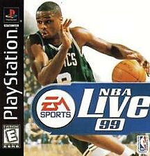 NBA Live 99 (Sony PlayStation 1, 1998) - Complete, Rated E for Everyone