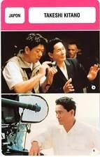 FICHE CINEMA :  TAKESHI KITANO -  Japon (Biographie/Filmographie)