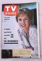 1960 TV Guide October 22 Bob Cummings hot rod Debbie Reynolds Untouchables Pitt