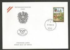 AUSTRIA - 1988 The 1200th Anniversary of Ansfelden  - F.D.COVER.