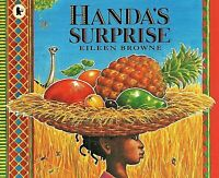 Preschool Bedtime Story Book: HANDA'S SURPRISE  by Eileen Browne - NEW