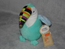 GEORGE HOME BLUE TOUCAN SOFT TOY BIRD COMFORTER DOUDOU ASDA WITH TAG