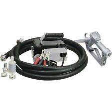 Roughneck 12v Fuel Transfer Pump 11 Gpm Manual Nozzle Hose