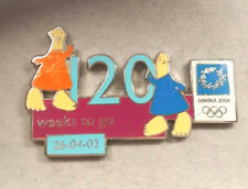 2004 ATHENS 120 WEEKS TO GO 26-04-02 OLYMPIC PIN