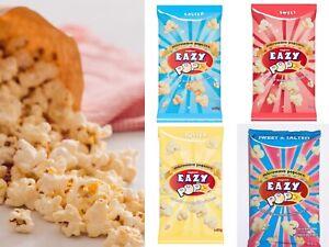 Popcorn Easy Pop Microwave salted butter sweet sweet & salted 1pk 2pk 8pk 16pk