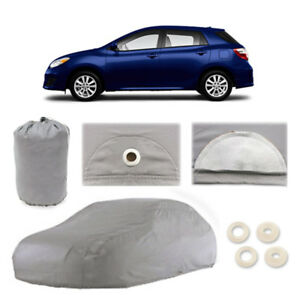Fits Toyota Matrix 4 Layer Car Cover Fitted Outdoor Water Proof Rain Snow Sun