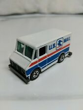 Hot wheels U.S. Mail Truck 1976 White Made in Malaysia