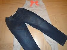 FREE PLANET GIRLS LEGGINGS SIZE 6X/ONE CLOTHING GRAY SWEATS SIZE 7