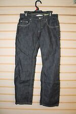 New Route 66 Girls Size 10 Straight Leg Dark Wash Denim Blue Jeans Zipper Pocket