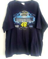 Jimmie Johnson T-Shirt 2XL NASCAR #48 Lowes Racing Champions 2006