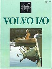 Boat Engine Brochure - Volvo Penta - I/O - Outdrive - Product Line (SH122)