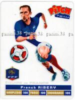 """RARE !! FRANCK RIBERY Carte """"EQUIPE DE FRANCE - EURO 2012"""" PITCH"""