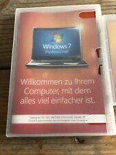 Windows 7 Pro, 64 bit / SP1, Holo DVD, DE, OEM Vollversion mit MwSt Rechnung
