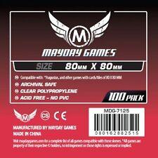 100 Plaza 80mm X 80mm Mangas De Mayday Juegos