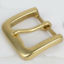 New Solid Brass Belt Buckles 1.6in(40 mm) Leathercraft BC012  Freeshipping