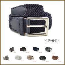 Cintura Uomo Elastica Cinta Intrecciata Corda Regolabile Vari Colori - HLP