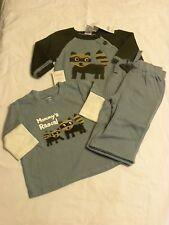 Gymboree NWT Wilderness Club  3 pc Set Sweater shirt pants Size 3-6 months