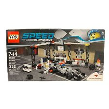 LEGO Speed Champions McLaren Mercedes Pit Stop 75911 Retired New 332 Pieces