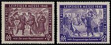 EBS Germany 1948 Soviet Occupation Leipzig Autumn Fair Michel 198-199 MNH**