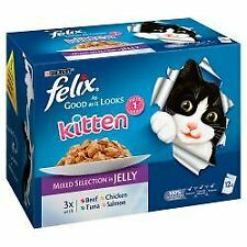 Felix As Good As It Looks Kitten  Mixed 12 Pack - 100g - 594101