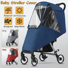 Outdoor Pet Stroller Cover for Car Dog Foldable Safe Transparent Wind Rain Proof