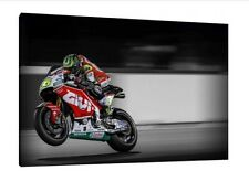 Cal Crutchlow 2016 Moto GP 30x20 Inch Canvas - LCR Honda Framed Picture Print