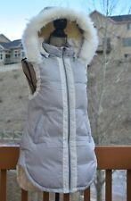 Sundance Catalog elongated hooded puffer vest (Alpine Walk Vest), NWT, small,