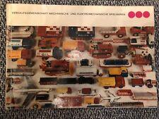 DDR Spielzeug Katalog ,MSB, MSW, Demusa, 60/ 70 er Jahre, original