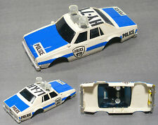 1979 Aurora AFX Chevy Pursuit HY-71 Police Slot Car BODY Rare EarlyClearGumdrops