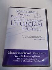 Music Promotional Library 2007 Concordia House Church Religious Planning 6 Disc