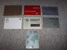 1982 BMW 320i Factory Original Owner's Owner User Guide Manual Book Set