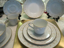 Pair Noritake Duetto place setting