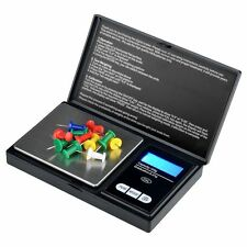 0.01g-100g Portable Electronic Digital Jewelry Scale Pocket Weight Mini Black