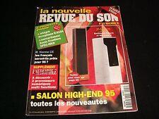 LA NOUVELLE REVUE DU SON  NOVEMBER 1995  FRENCH MAGAZINE