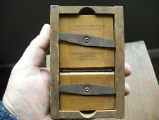 Antique Eastman Kodak Printing Frame for 1A Negatives 2 1/2 x 4 1/4, c1900s
