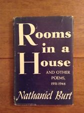 Rooms in a House and Other Poems by Nathaniel Burt 1st Ed