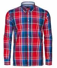 TOMMY HILFIGER CUSTOM FIT Camicia Uomo maniche Lunghe colore RED XL