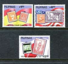 Philippines 2010a-2010C,  MNH, World Stamp Expo '89