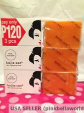 KOJIE SAN KOJIC SKIN WHITENING LIGHTENING SOAP- 3 BARS OF 100G EACH.USA SELLER