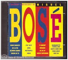MIGUEL BOSE' - I GRANDI SUCCESSI DI Anno 1993