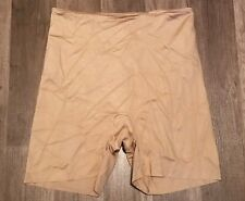 Spanx 393 SLIMPLICITY SHAPING GIRL SHORT sz XL NUDE NWOT